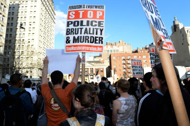 New York City protest for Freddie Gray